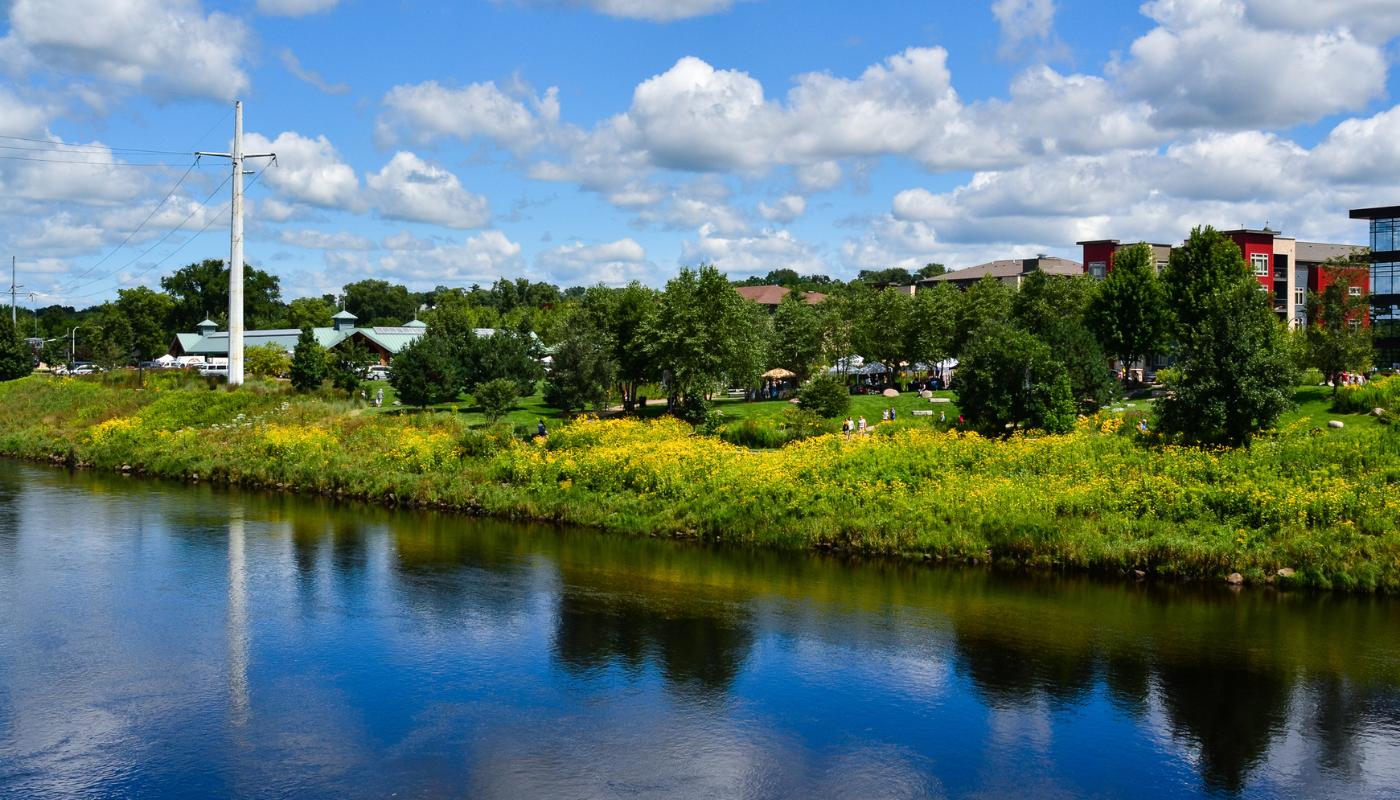 Phoenix Park along the Chippewa River